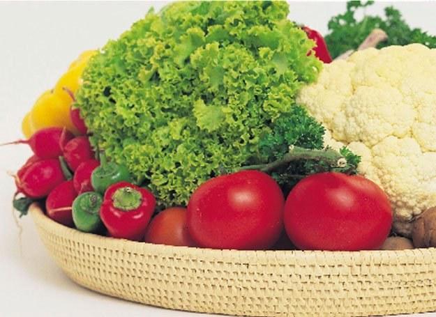 Warzywa mają mało kalorii i dużo witamin