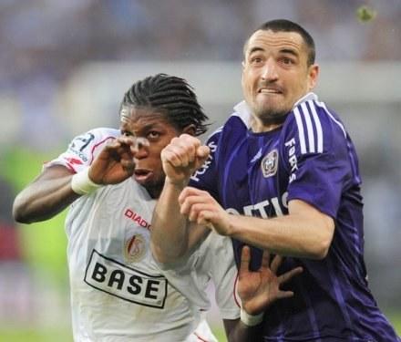 Wasilewski w meczu z Cercle Brugge  trafił w poprzeczkę /AFP