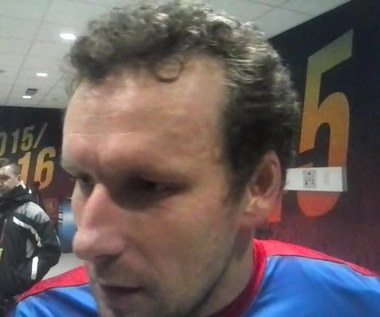 Wasiljew po meczu Piast - Legia. Wideo