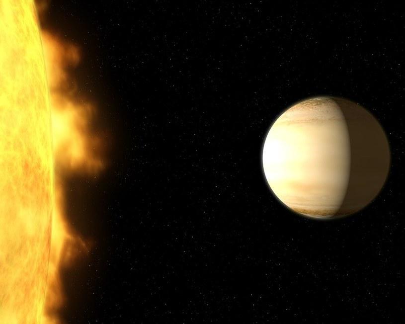 WASP-39b jest osiem razy bliżej swojej gwiazdy, niż Merkury Słońca /NASA