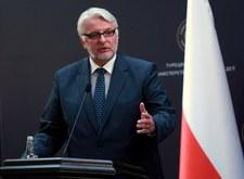 Waszczykowski: Niemcy prowadzą egoistyczną politykę
