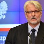 Waszczykowski: W 2 lata rządów PiS zmieniono ponad 60 proc. ambasadorów