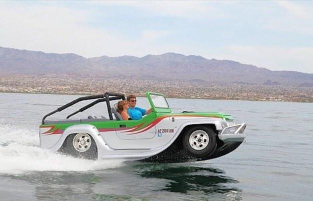 WaterCar Panther - amfibia idealna na lato /materiały prasowe