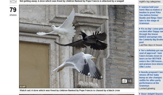 Watykan /Daily Mail/ http://www.dailymail.co.uk /INTERIA.PL