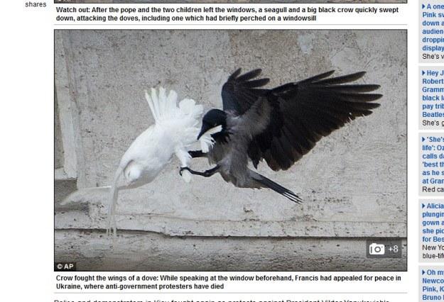 Watykan /Daily Mail/http://www.dailymail.co.uk /INTERIA.PL