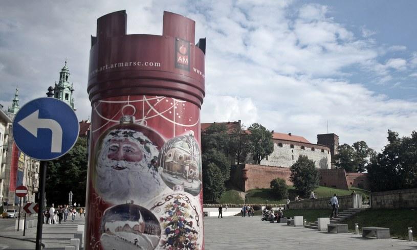 Wawel widziany od Placu Wielkiej Armii Napoleona /Maciej Nycz /RMF FM