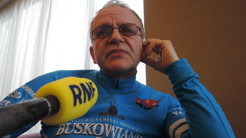 Wawrzyniec Kuc, koordynator wyprawy Valerjana Romanovskiego /Materiały prasowe