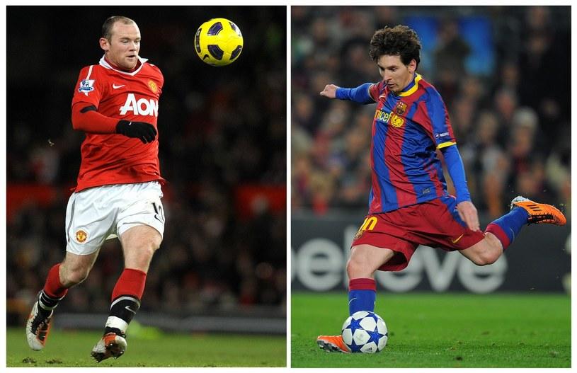 Wayne Rooney i Lionel Messi /AFP