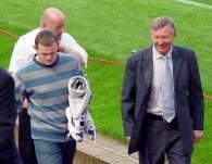 Wayne Rooney i sir Alex Ferguson /AFP
