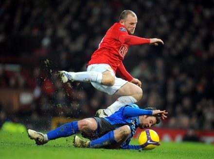 Wayne Rooney już jest zdrowy. /AFP