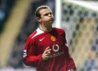 Wayne Rooney miał powody do radości /AFP