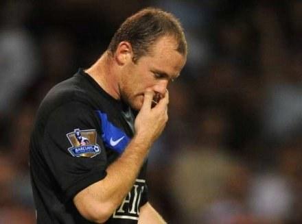 Wayne Rooney nie zawsze jest w stanie zastąpić Cristiano Ronaldo /AFP