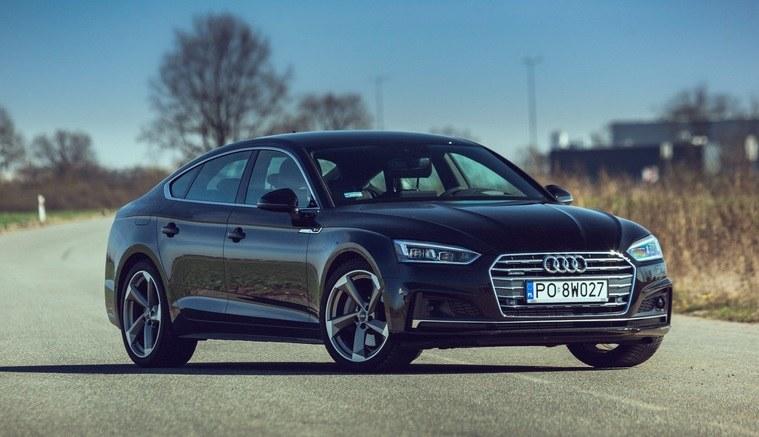 Ważnym składnikiem sukcesu Audi była nowa rodzina A5 (na zdjęciu wersja Sportback) /INTERIA.PL