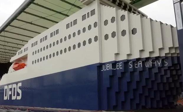 Waży 3 tony i składa się z miliona klocków. Niezwykły statek dotarł do Poznania