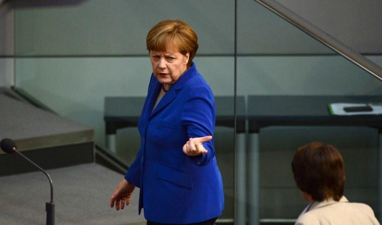 Wbrew nadziejom polskiej strony nie będzie kanclerz Angeli Merkel /AFP