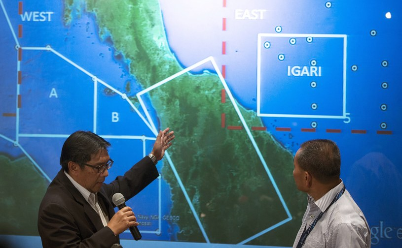 Wciąż nie udało się zlokalizować Boeinga 777 /AHMAD YUSNI /PAP/EPA