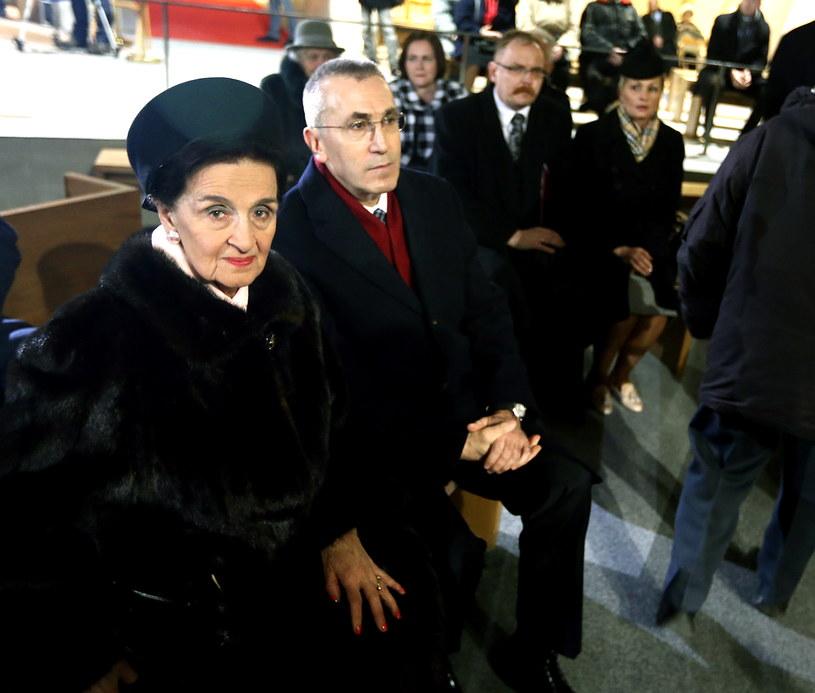 Wdowa po ostatnim prezydencie na uchodźstwie Ryszardzie Kaczorowskim, Karolina Kaczorowska /Tomasz Gzell /PAP