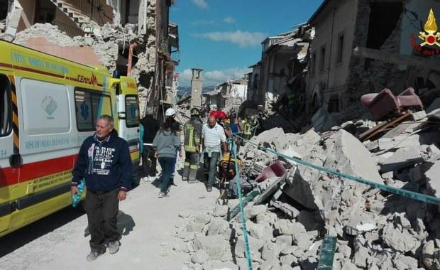 We Włoszech wciąż niespokojnie. Silne wstrząsy wtórne w Amatrice