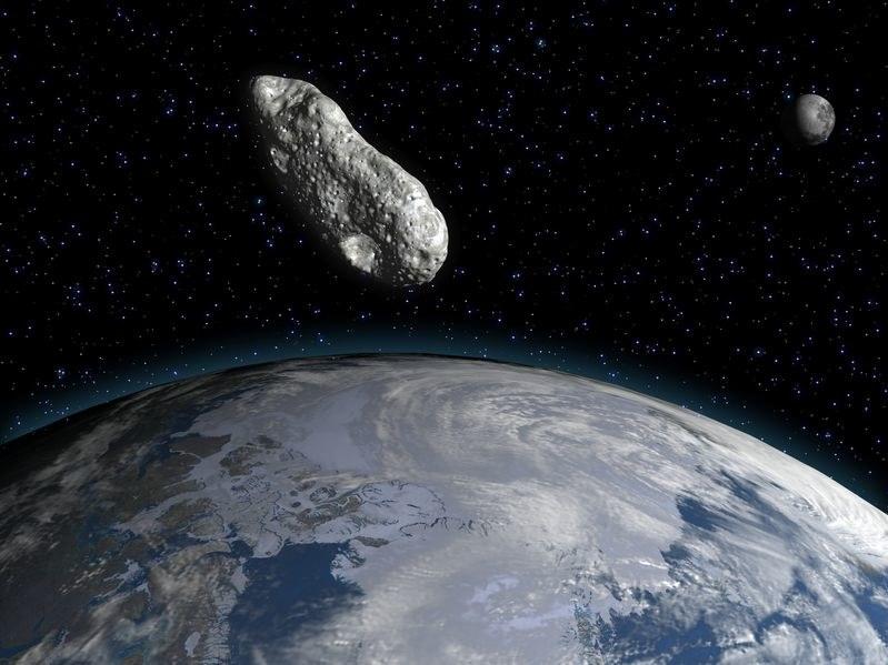 We wrześniu 2015 nasza cywilizacja może zostać zniszczona przez gigantyczną asteroidę. /123RF/PICSEL