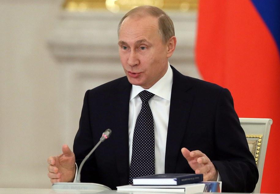 Według Dominique'a Moisiego nie można całkowicie wykluczyć, że imperialne zakusy Władimira Putina zaczną zagrażać Polsce / SERGEI ILNITSKY    /PAP/EPA
