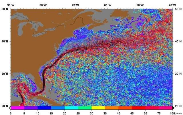 Według ekspertów to globalne ocieplenie osłabia Prąd Zatokowy, zwany też Golfsztromem /Zmianynaziemi.pl