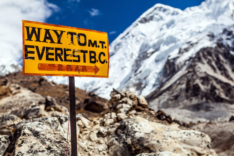 Według niektórych, Mount Everest nie jest wcale najwyższym szczytem Ziemi /©123RF/PICSEL