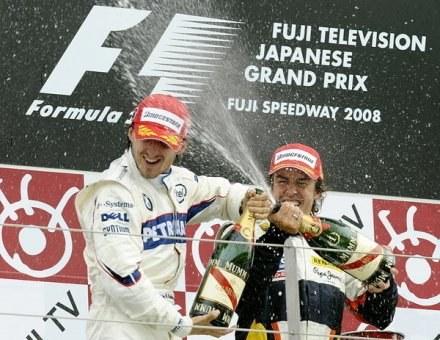 Według nowego systemu, zwycięzca wyścigu Formuły 1 dostanie 25 punktów /AFP