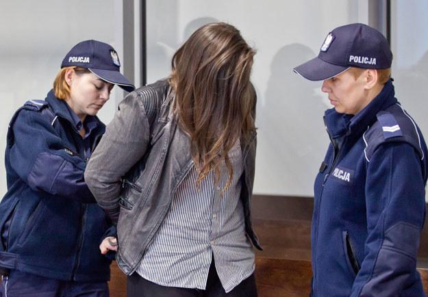 Według prokuratora skutek prewencyjny będzie miało orzeczenie kary dożywocia (na zdjęciu Zuzanna M.) /Wojtek Jargiło /Agencja SE/East News