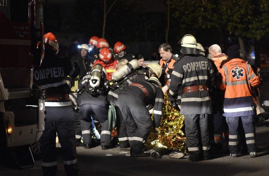 Według świadków akcja ratunkowa była źle zorganizowana /STR /PAP/EPA