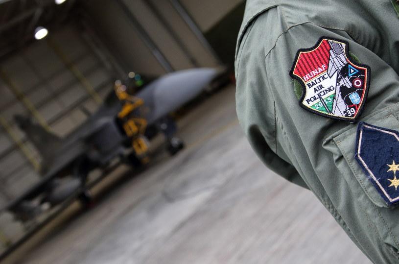 Węgierscy piloci pełniący dyżur w ramach Baltic Air Policing, zdj. ilustracyjne /Bartosz Bera /Agencja FORUM