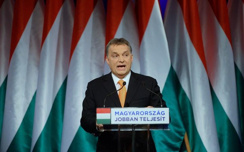 Węgierski premier Viktor Orban /AFP