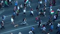 Węgry: Protest tysięcy studentów w Budapeszcie