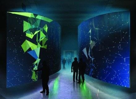 Wejście do Arsenału jest wejściem w obszar matrixowskiej galaktyki... /Sztuka.pl