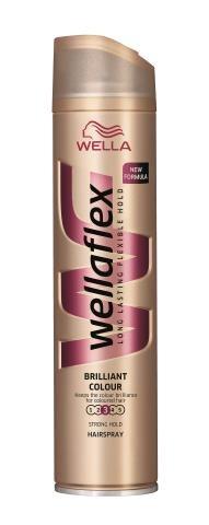 Wella, Wella- flex Brilliant Colour, lakier do włosów, 14,99 zł. /Mat. Prasowe