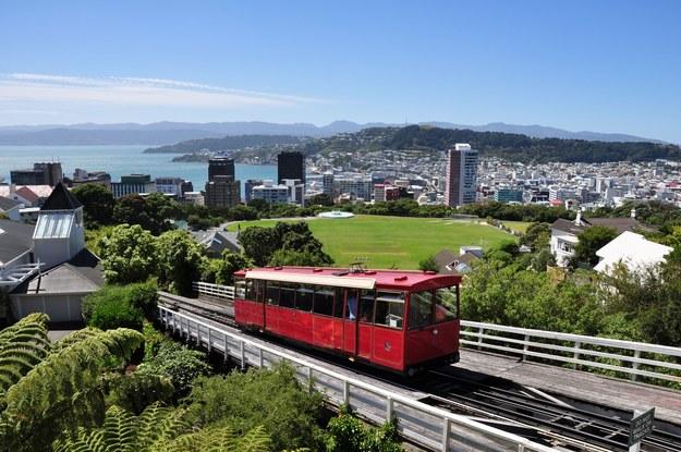 Wellington - stolica Nowej Zelandii /123/RF PICSEL