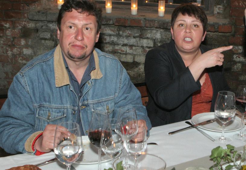 Wellmanowie na degustacji wędlin (2008 r.) /Maciąga /Agencja FORUM