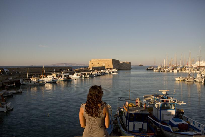 Wenecki port w Heraklionie /The New York Times Syndicate