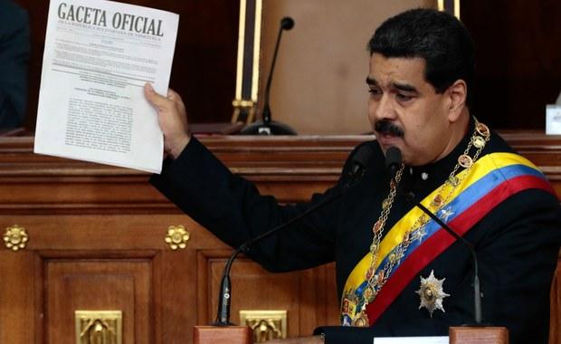 Wenezuela: Maduro obchodzi opozycję. Konstytuanta przejmuje prerogatywy parlamentu