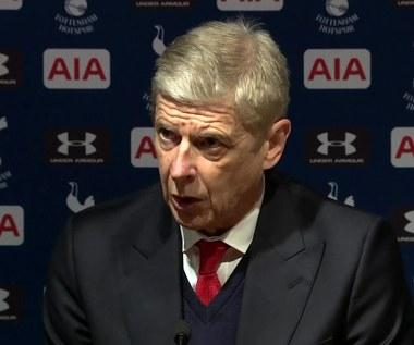 Wenger po 0-2 z Tottenhamem. Wideo