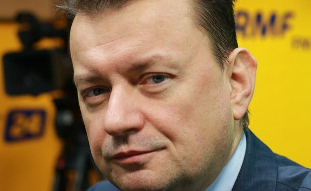 Wet za wet. Minister Błaszczak kontra unijny komisarz