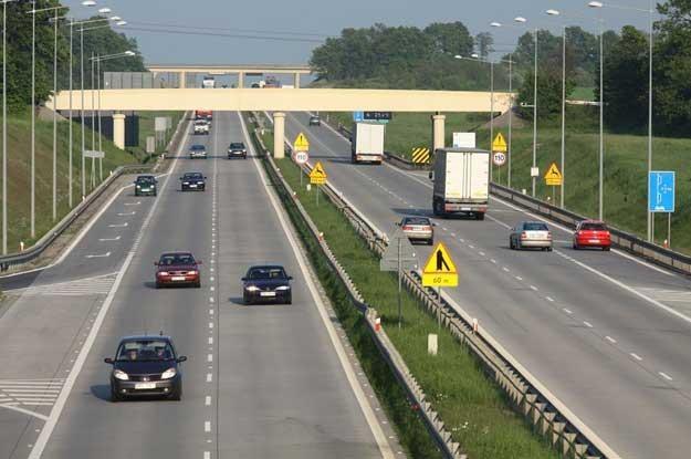 Węzeł Kostomloty na autostradzie A4.  Fot. Lukasz Jóźwiak /Reporter