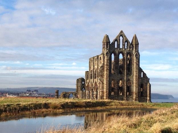 Whitby Abbey - ruiny benedyktyńskiego opactwa /123/RF PICSEL