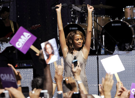 Whitney Houston w Central Parku - fot. Larry Busacca /Getty Images/Flash Press Media