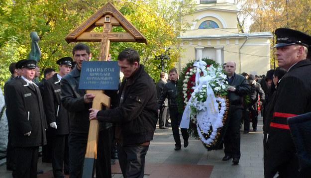 Wiaczesławowi Iwankowowi sprawiono pogrzeb godny bohatera /AFP