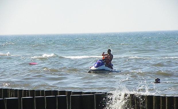 Wiatrakowiec runął do morza