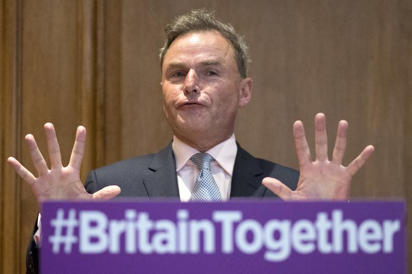 """Wicelider UKIP Peter Whittle: Przymus noszenia burki i nikabu jest """"absolutnym symbolem uprzedmiotowienia kobiet"""" /JUSTIN TALLIS /AFP"""
