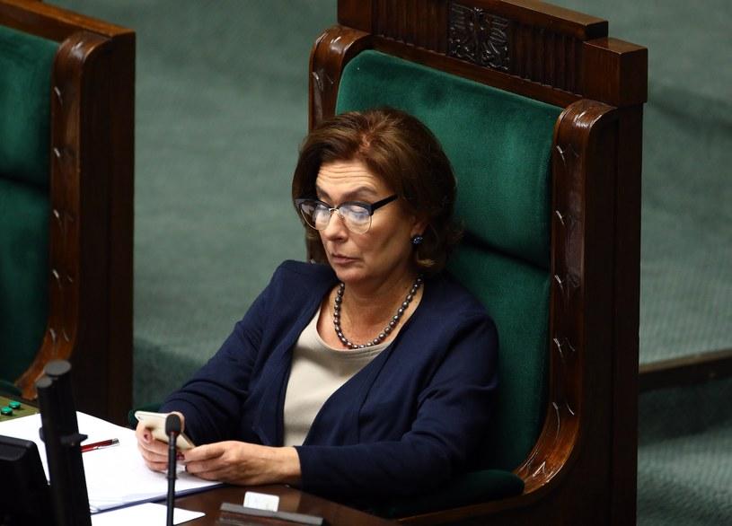 Wicemarszałek Sejmu Małgorzata Kidawa-Błońska (PO). /Stanisław Kowalczuk /East News