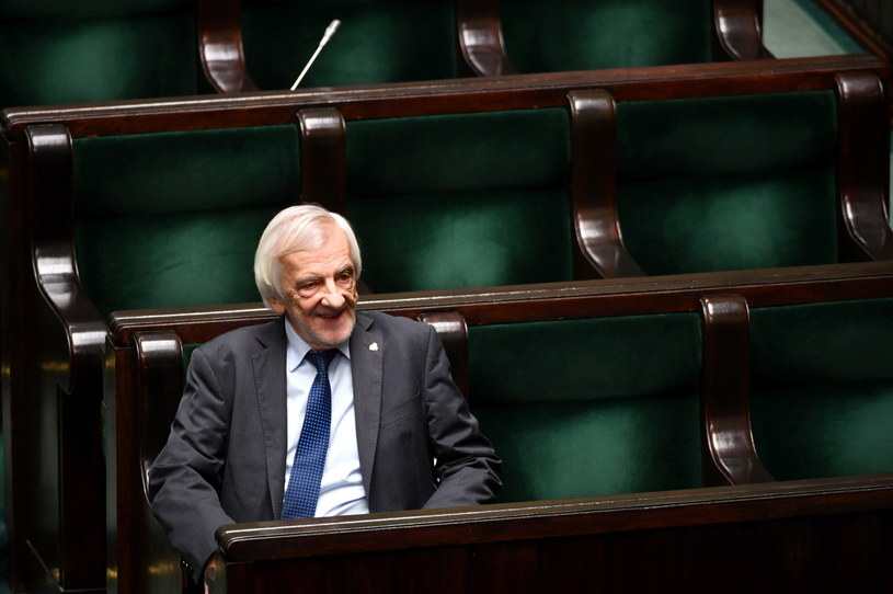 Wicemarszałek Sejmu Ryszard Terlecki w Sejmie /Bartłomiej Zborowski /PAP