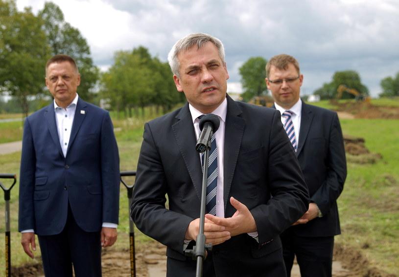 Wiceminister infrastruktury Jerzy Szmit /Tomasz Waszczuk /PAP