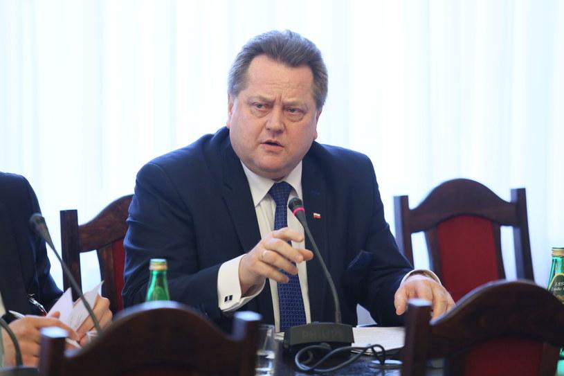Wiceminister spraw wewnętrznych i administracji Jarosław Zieliński /Leszek Szymański /PAP